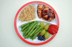 dinner-on-healthy-plate